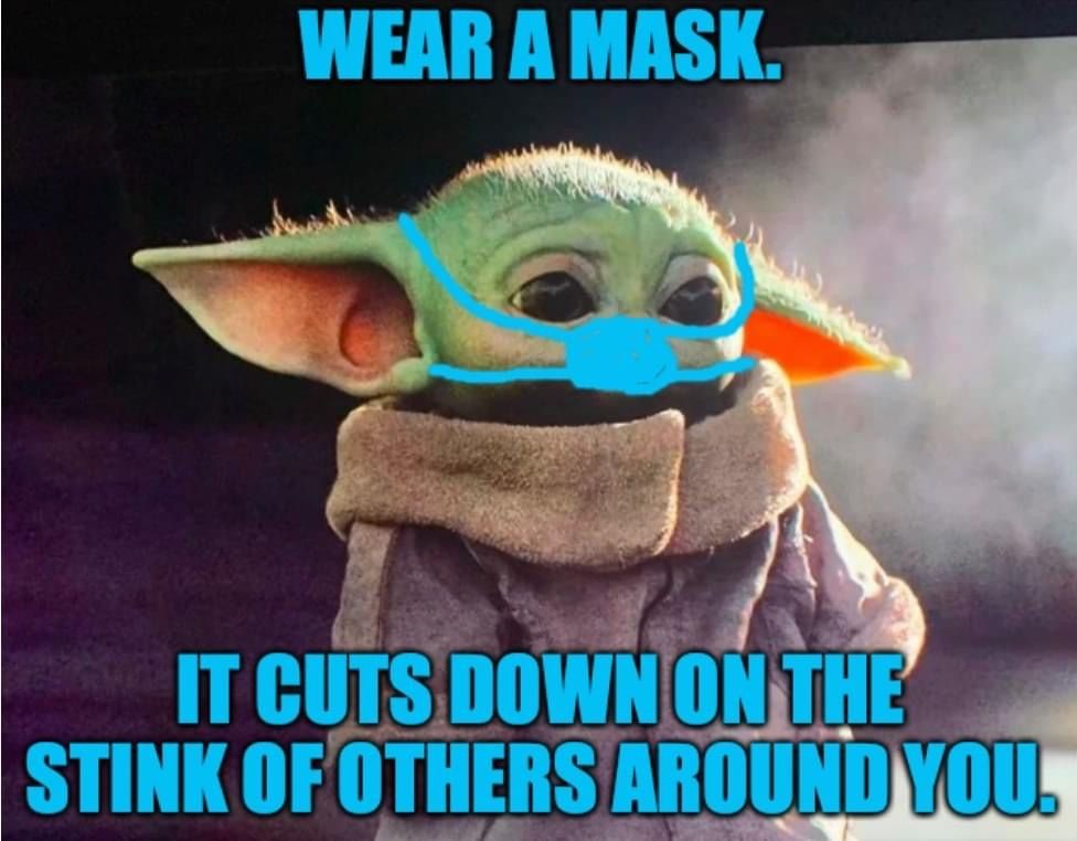 Pin By Nyree Skenderian On Baby Yoda Star Wars Humor Nurse Humor Star Wars Baby
