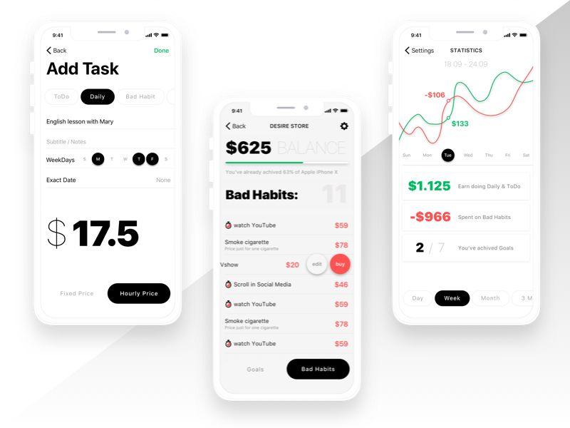 Habby App Concept