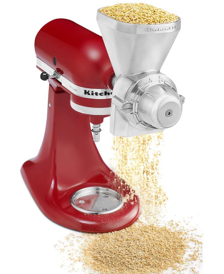 Kitchenaid kgm grain mill stand mixer attachment kitchen