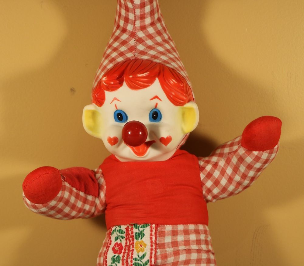Image result for clown with a wind up nose