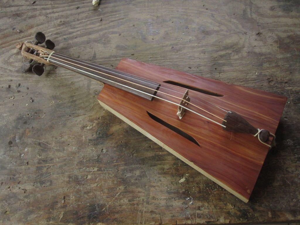 Improvised Folk Fiddle Folk Music Instruments And
