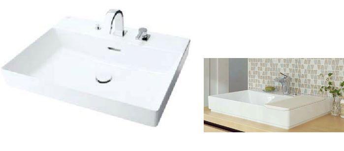 楽天市場 Inax Lixil 角形洗面器 ベッセル式 Yl A401fycb C V