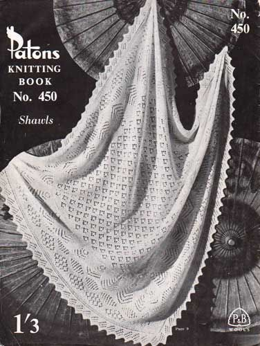 Knitted Shetland Baby Shawl Free Pattern Note There Is A