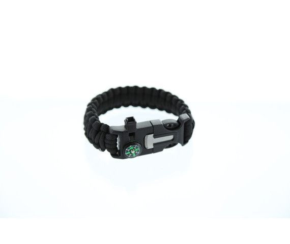 5-in-1 Survival Bracelet (2-Pack)