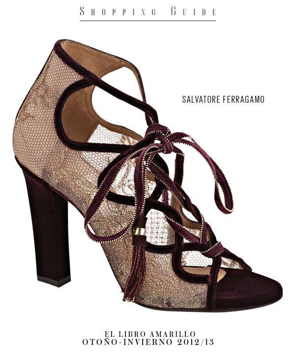 3316444ba59 Zapato - Salvatore Ferragamo - El Palacio de Hierro - El Libro Amarillo