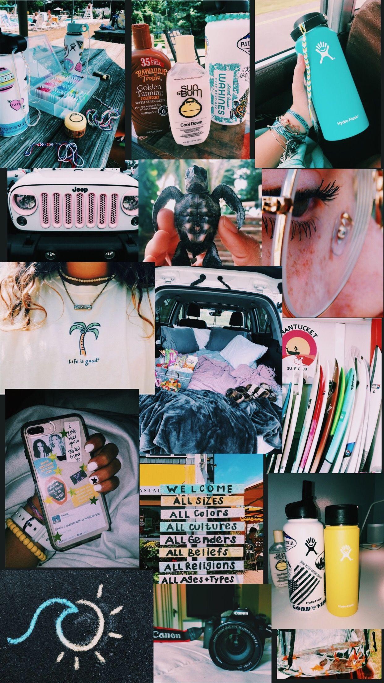 pinterest ↠ livvyholt ★ Wallpaper iphone summer