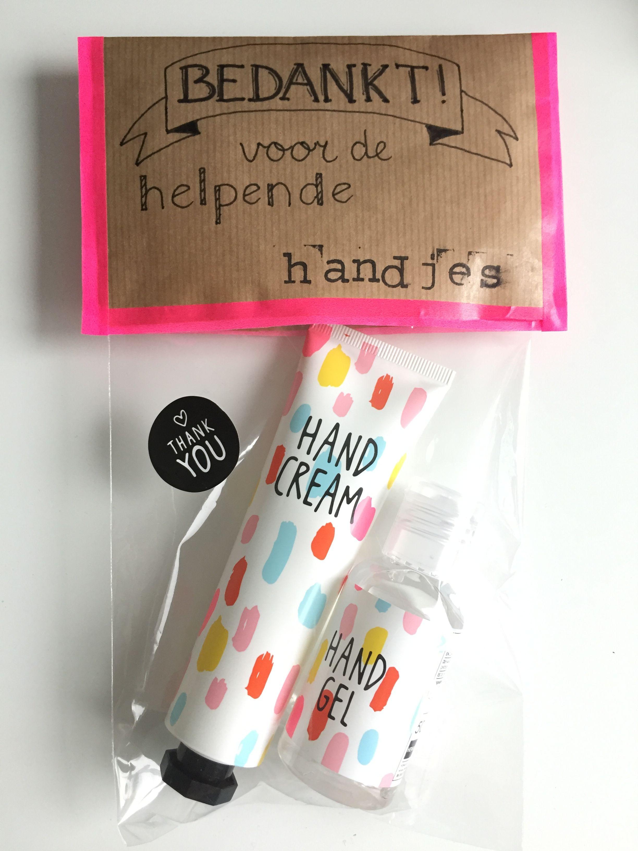 Cadeautje voor hulpouders. Bedankt voor de helpende ... Smarties Verpakking