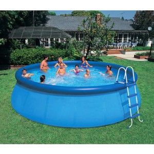 Free Shipping, easy set blow up pool for family game kids ...