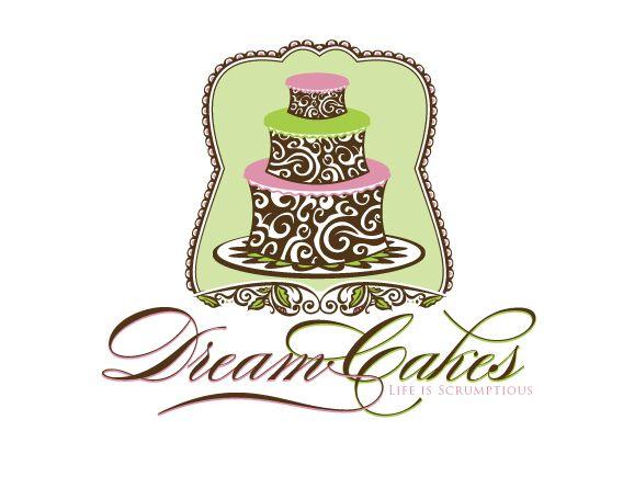 best cake logo design Dream cakes Logo Design  Cake logo design, Cake logo, Logo design