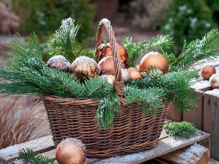 Ideen für die Weihnachtsdekoration #weihnachtendekorationtischdekoration