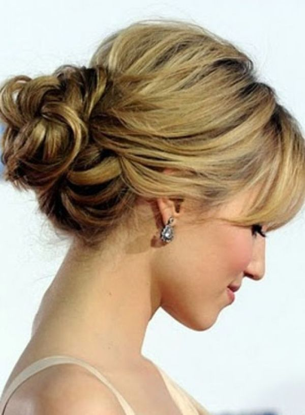 Simple Updos For Medium Length Hair Medium Length Hairstyles By