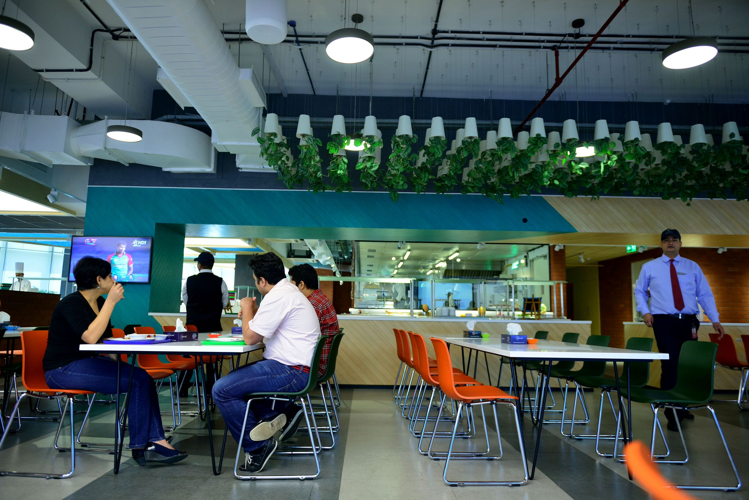 google head office. GURGAON, INDIA - MARCH 19: Cool Cafeteria At Google Head Office On March 19\u2026 E