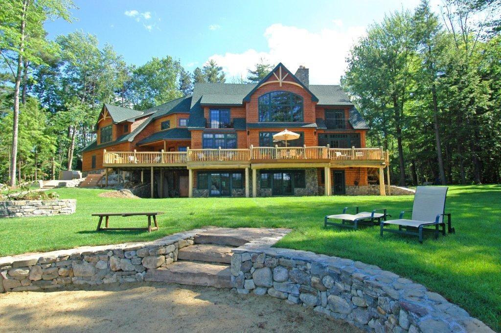 An adirondack flair lake winnipesaukee custom homes in for Flair custom homes