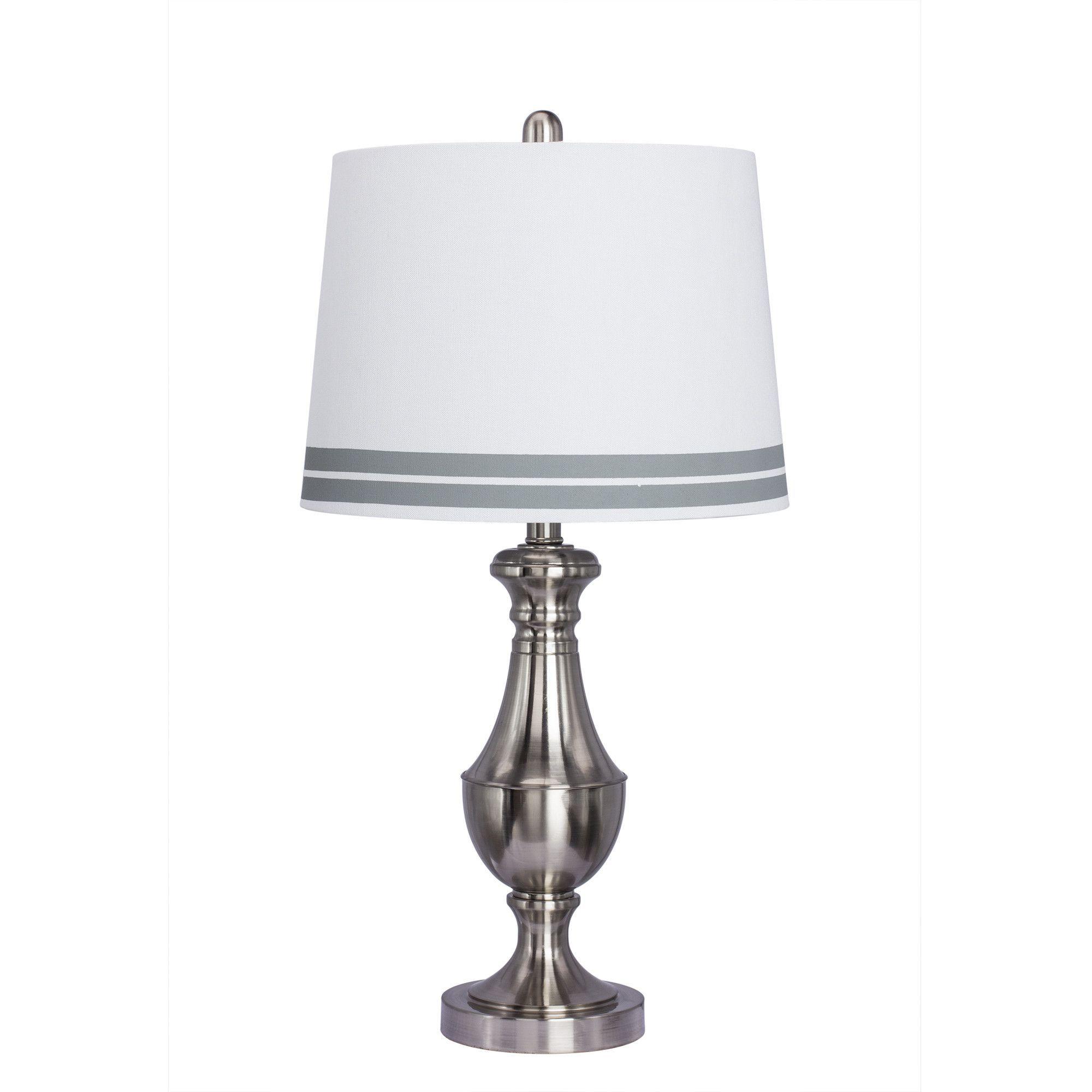 """Metal 26"""" Table Lamp"""