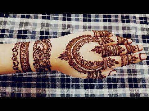 Eid Special Henna Design 2018 1 Heena Vahid Youtube