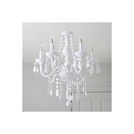 Wickham white 5 lamp pendant ceiling light departments diy at bq