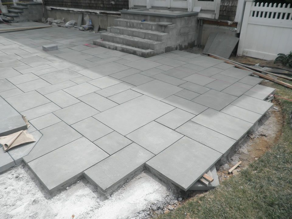 bluestone patio and pool renovation patricks pools long island ny - Bluestone Patio Ideas