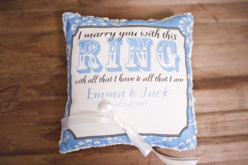 #ringbearer #pillow #indianhillcountryclub