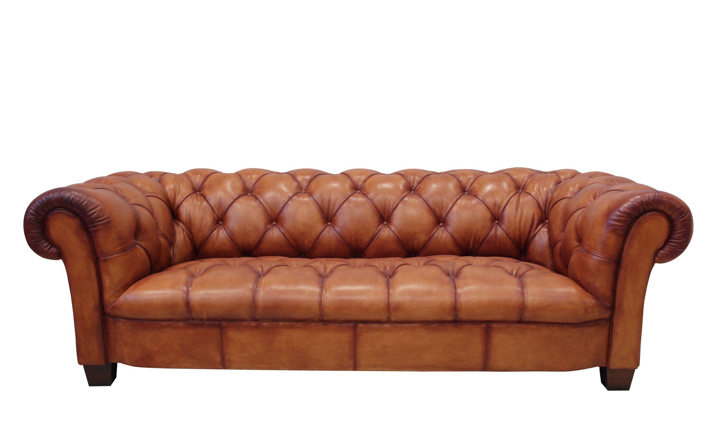 The Tetrad Elliott Leather Sofa - Chesterfield - Pinterest -