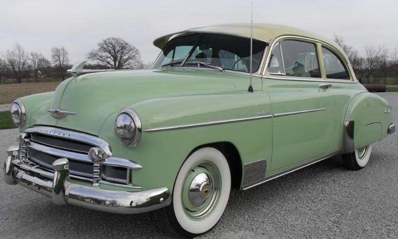 1950 Chevrolet Deluxe Styleline 2 Door Sedan For Sale By Owner At
