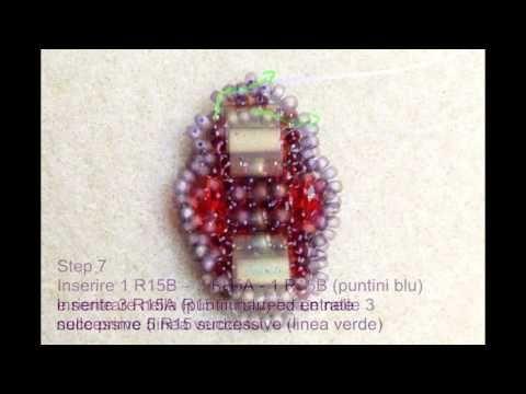 Photo tutorial *Sia* earrings - YouTube