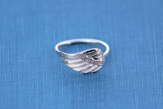 3 Bohemian ring blanks heart version silver 16 mm
