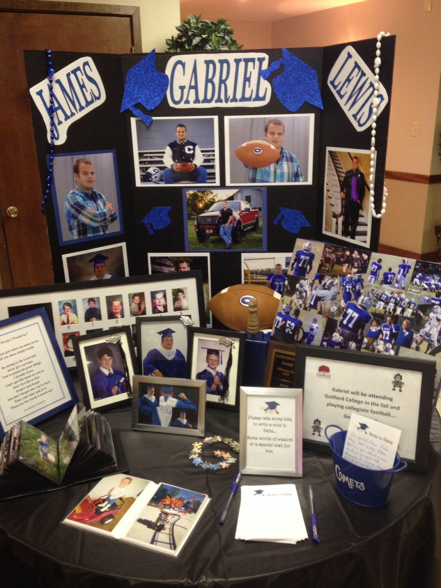 gabes graduation table for church