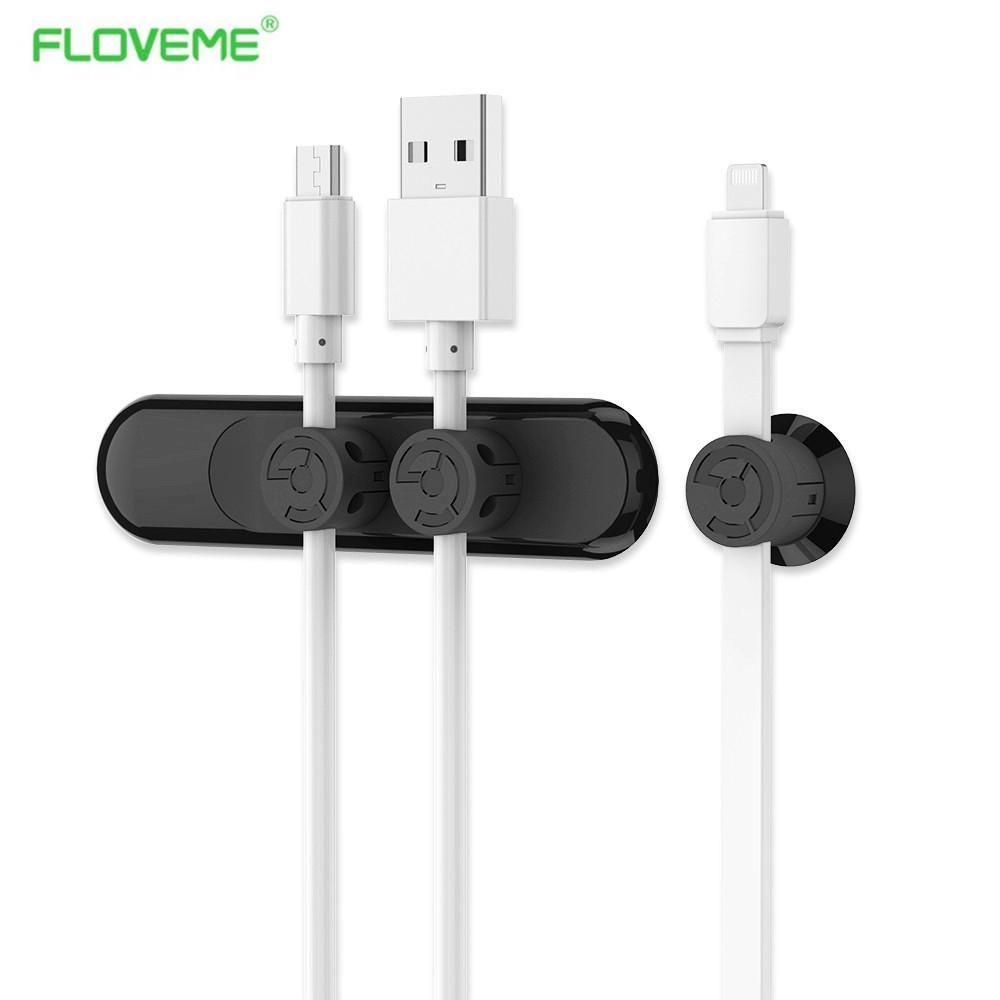 FLOVEME Magnetic Cable Clip Magnetometric Cable Clamp with 3pcs ...