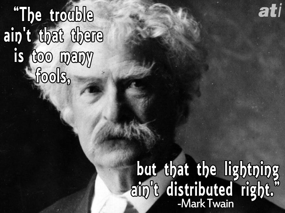 History's Most Famous And Hilarious Insults Mark twain