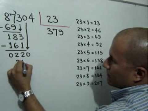 Como Dividir Por Tres Cifras Paso A Paso Division Inexacta Julio Rios Explica El Procedimiento Para