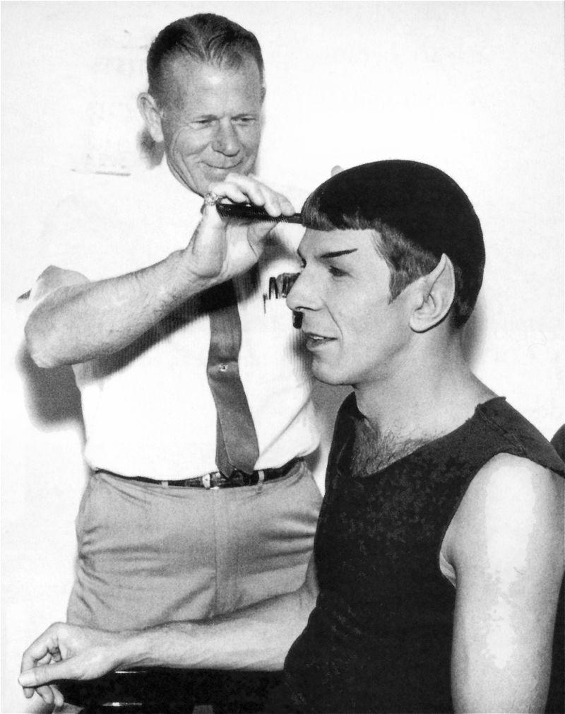 How often do men get haircuts rare photos  star trek the original series photo
