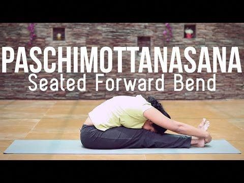 how to do paschimottanasana seated forward bend