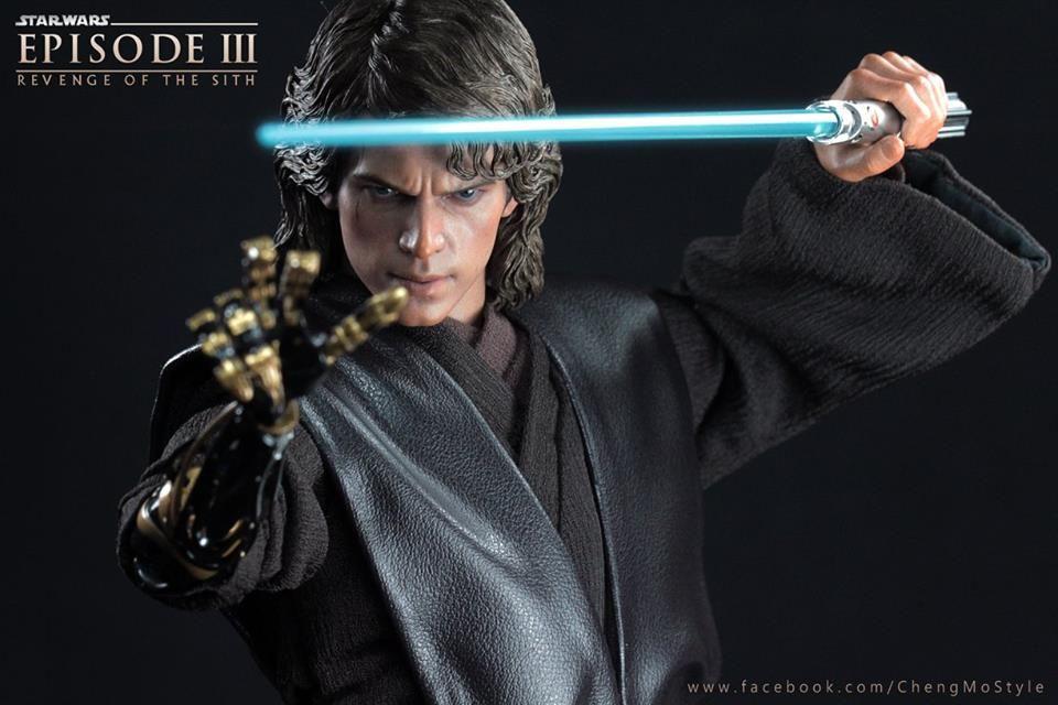 Anakin Skywalker Episode Iii Revenge Of The Sith 2005 Sideshow Collectibles Anakin Skywalker Darth Vader Hot Toys