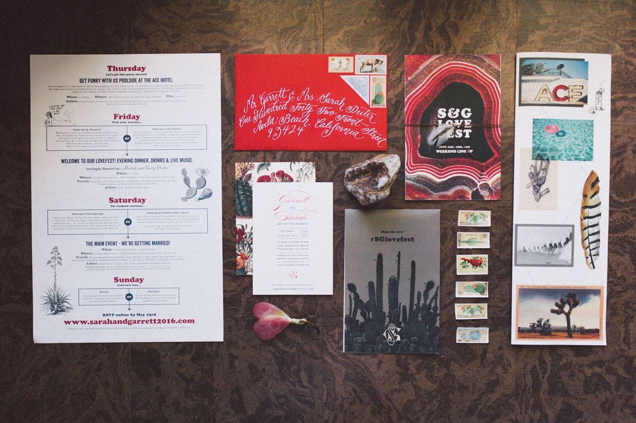 Three-Day Moroccan-Inspired Wedding in Joshua Tree: The Wedding ...