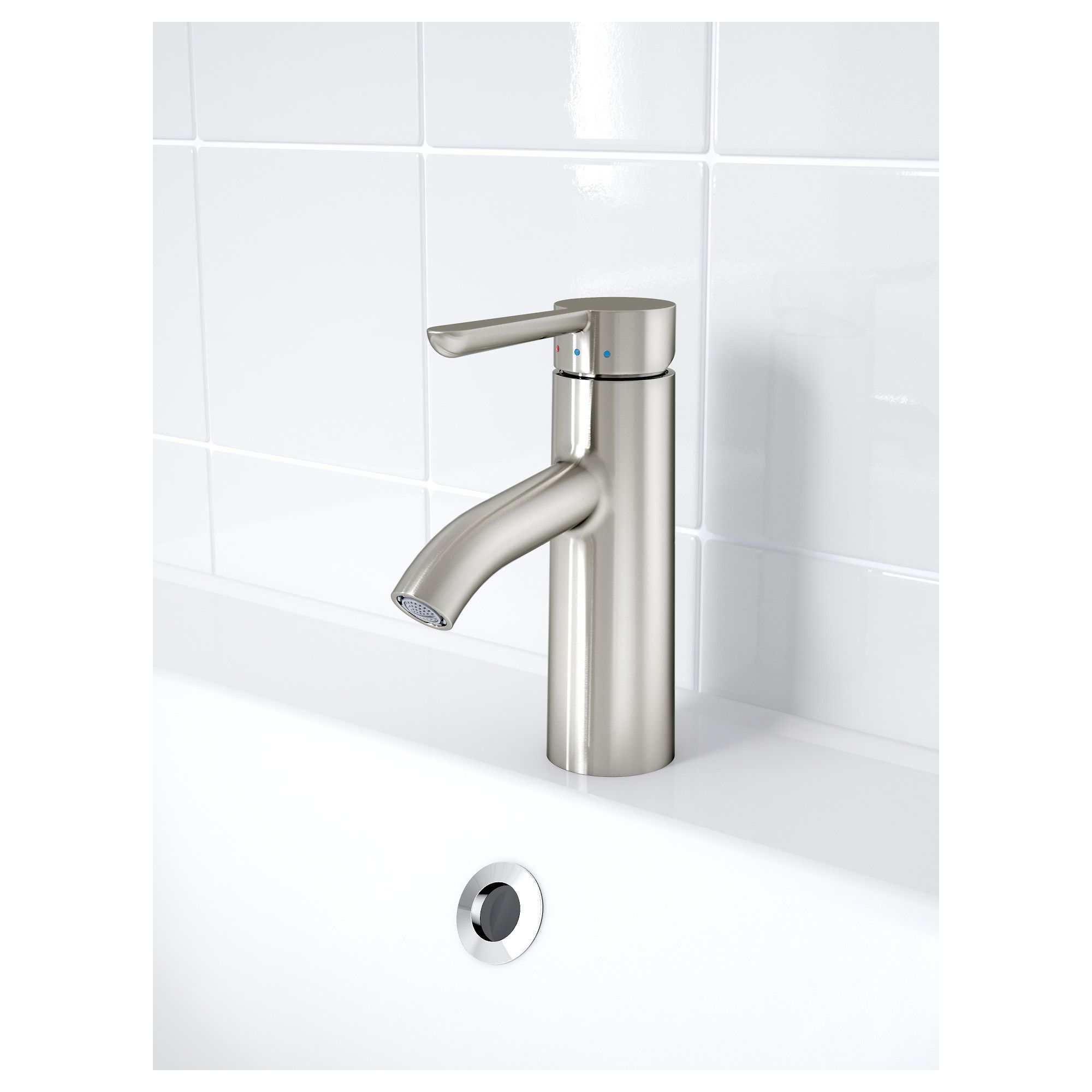 ikea dalskr bathroom faucet stainless steel color - Ikea Bathroom Faucets