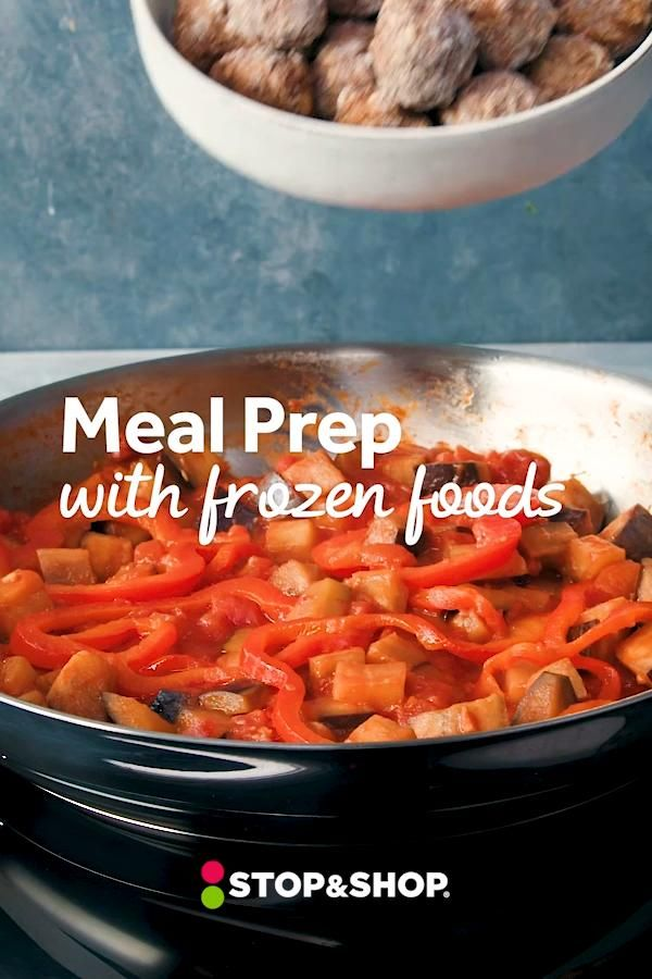 How to Meal Prep with Frozen Foods