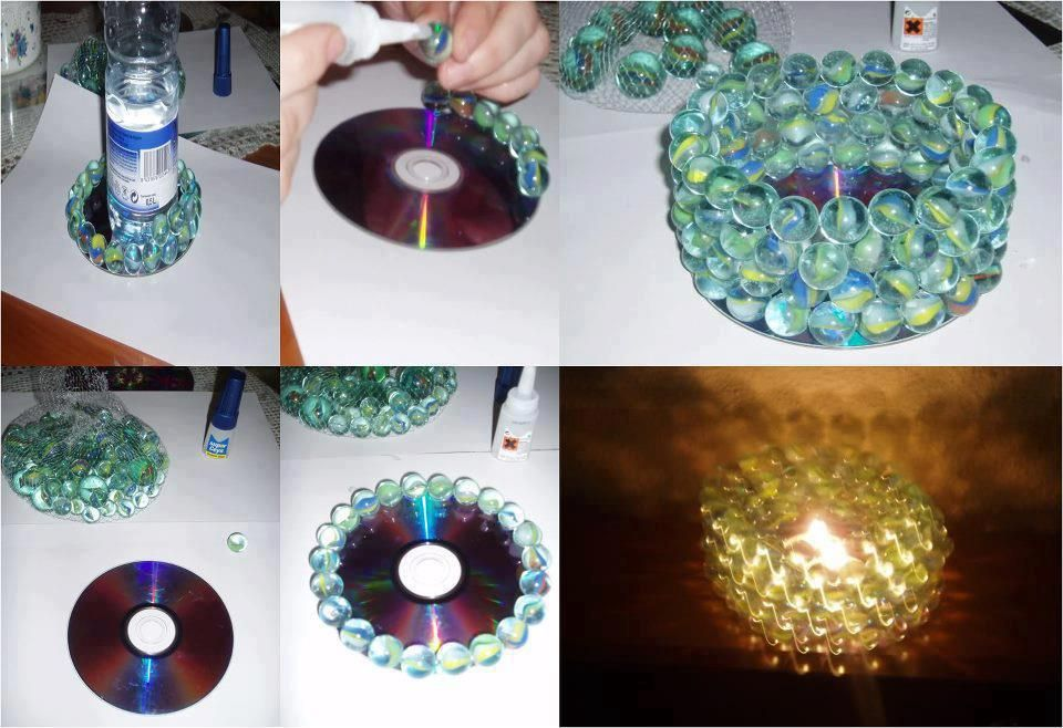 CD DIY candle decoration Projects to Try Pinterest Diy candles