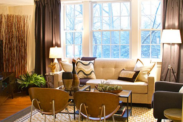 Making An Awkward Shaped Living Room Work Small Living Room Design Apartment Living Living Room Designs
