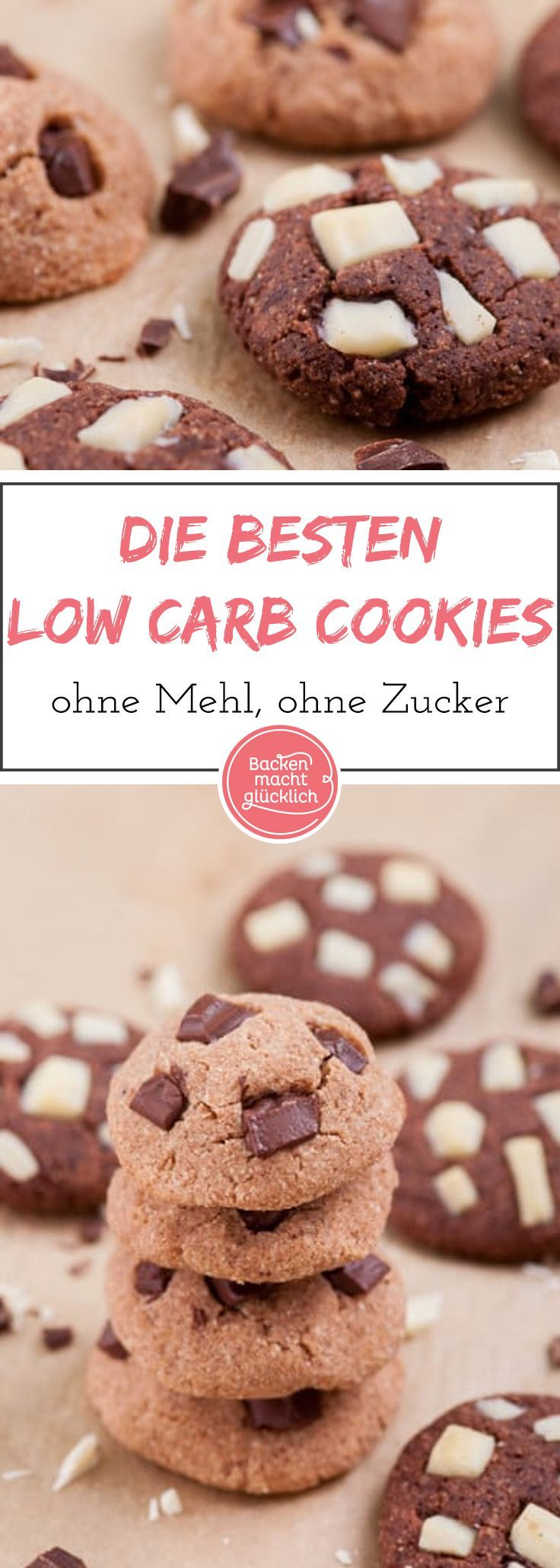 Low Carb Chocolate Cookies #lowcarbyum