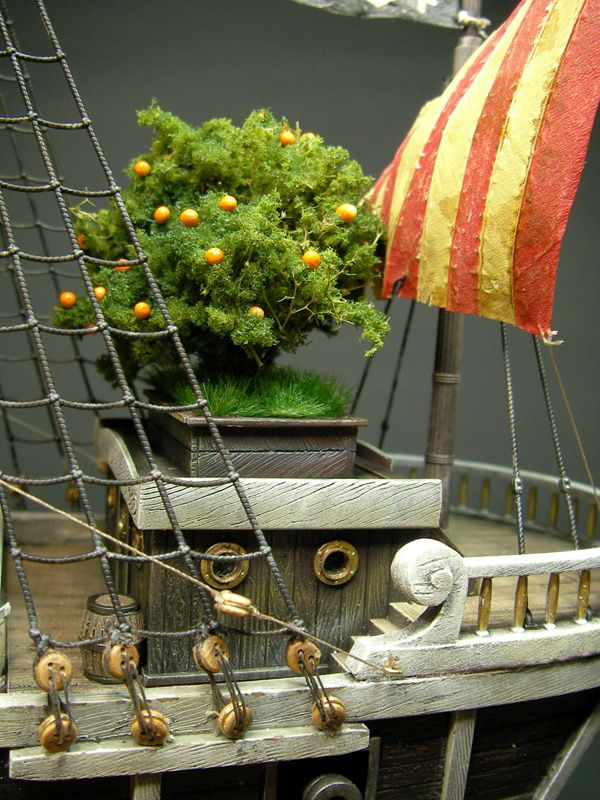 Going Merry Pirates Ship 1 100 Scale Model Diorama Kapal
