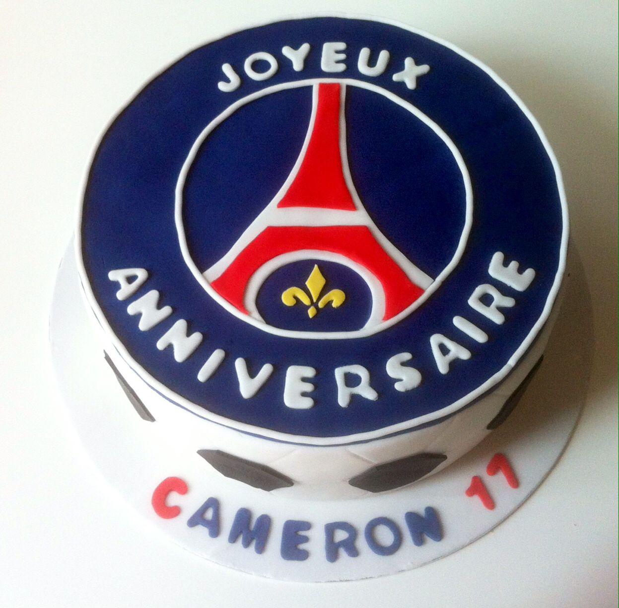 Top Gâteau anniversaire foot PSG | Foot | Pinterest | Psg, Gateau  VO01