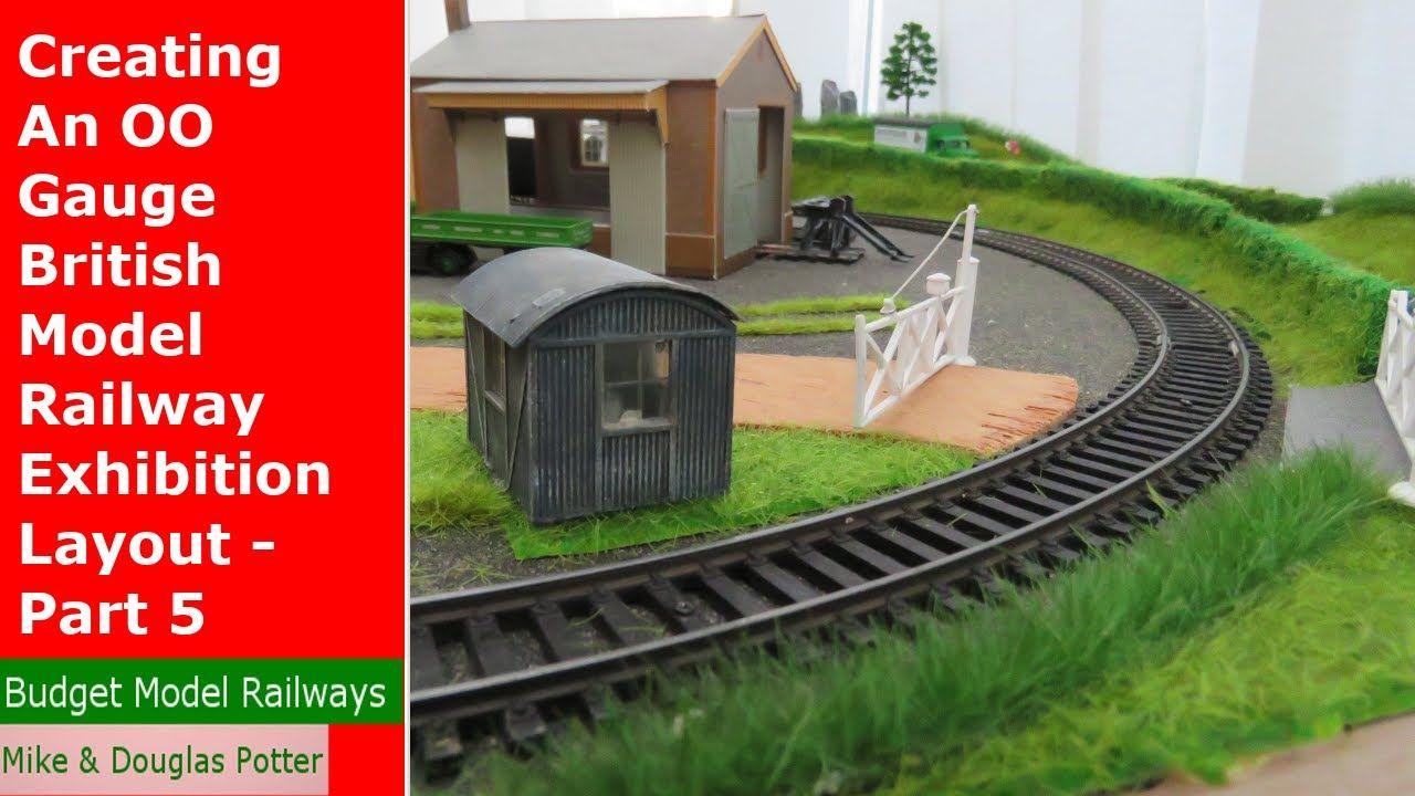 Creating An Oo Gauge British Model Railway Exhibition Layout Part 5 Model Railway Exhibition Layout Layout