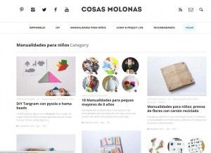 20 Blogs con recursos DIY para Infantil y Primaria