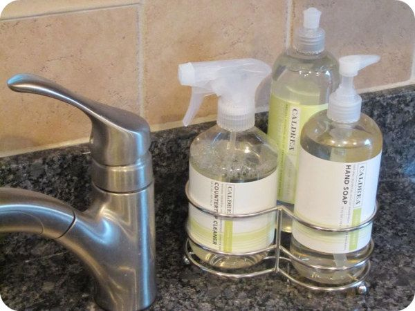 aad589e68fc9 Kitchen Caldrea Dish Soap Caddy | House Ideas | Best kitchen sinks ...