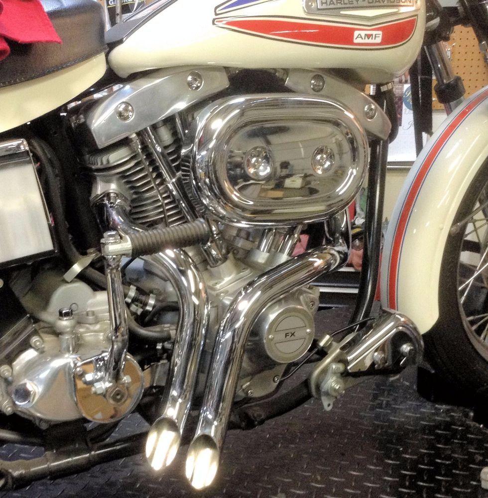 Loud As F K 1 3 4 Laf L A F Chrome Y Drag Pipes Exhaust 71 84 Harley Shovelhead Ebay Motors Parts Accessories Harley Shovelhead Shovelhead Harley Softail