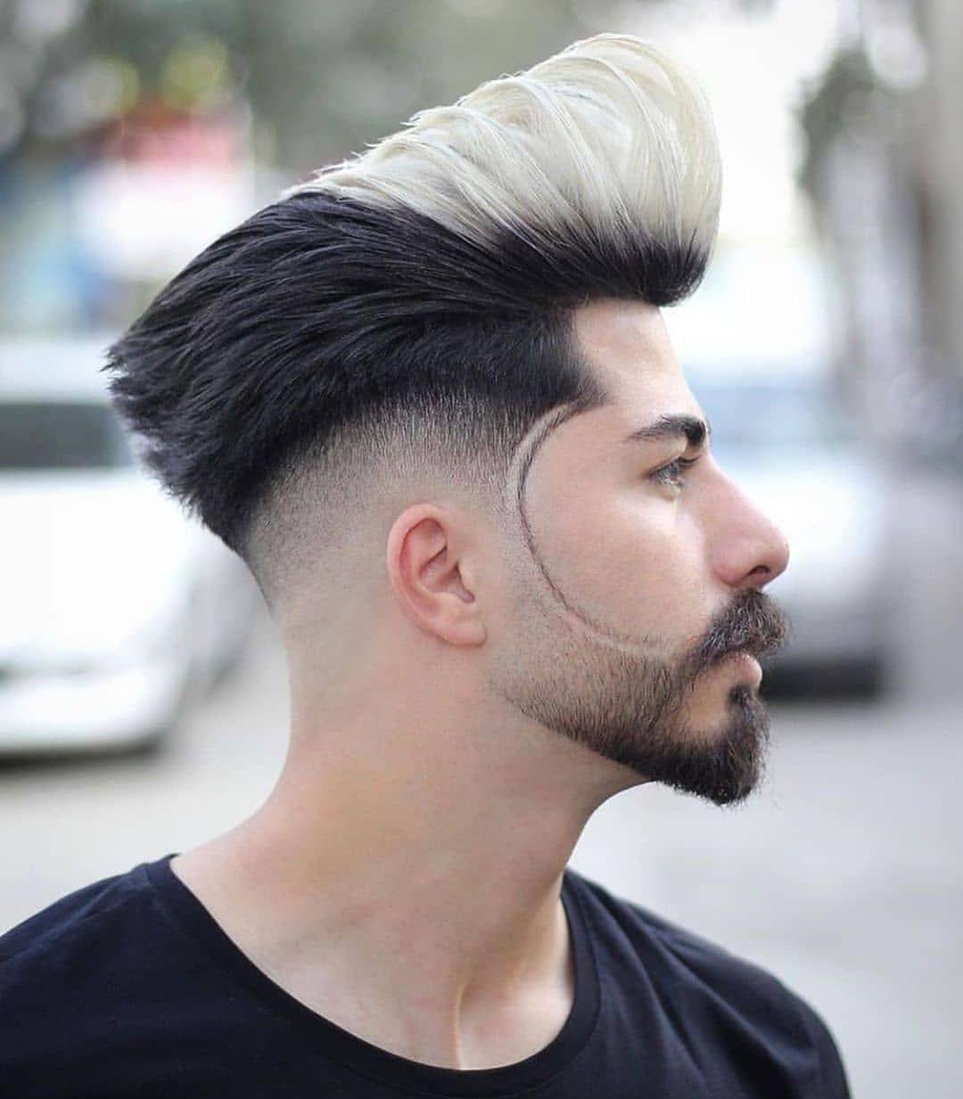 Coiffure Homme Coiffure Homme Cheveux Toupet Coiffure