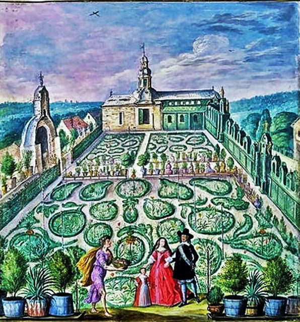 J. J. Walther   A Dutch Garden