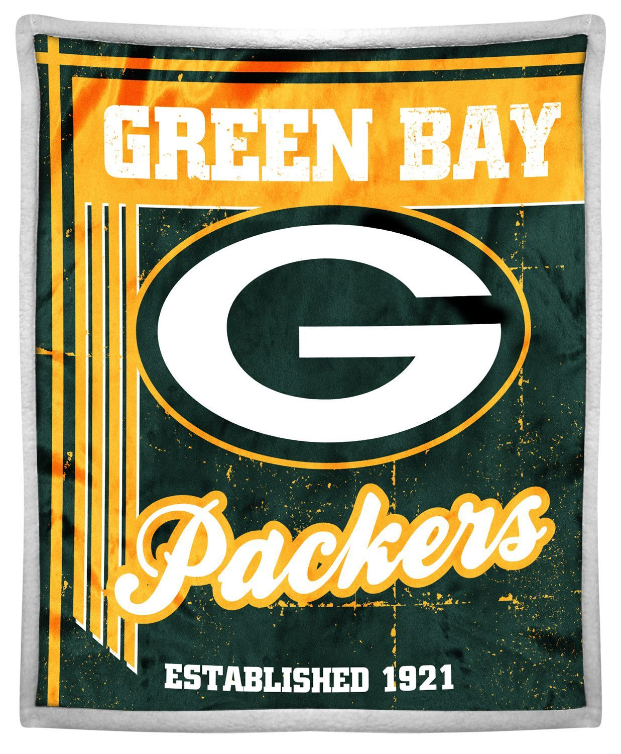 Nfl Packers Old School Throw Green Bay Packers Team Green Bay Packers Nfl Packers