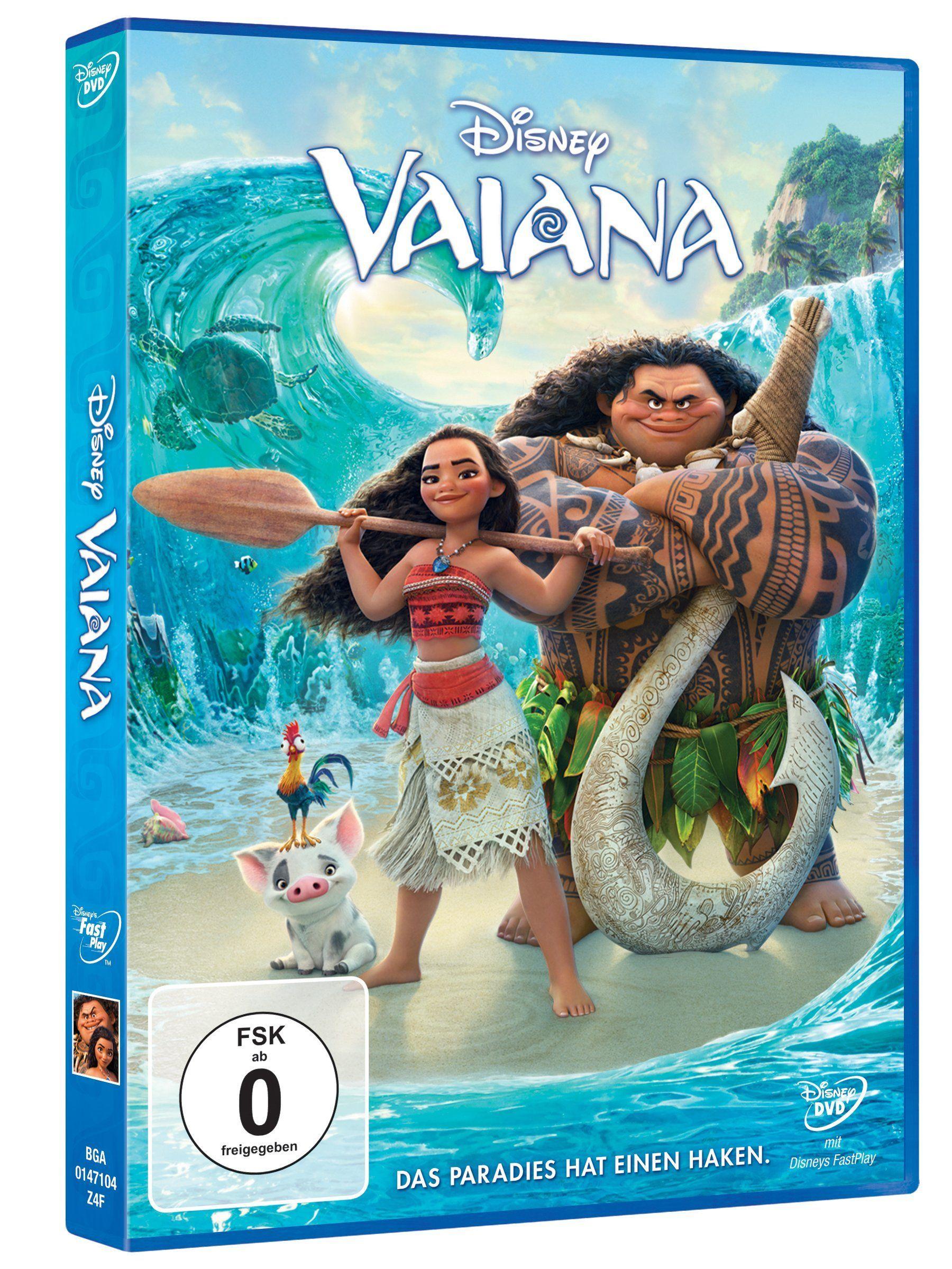 Vaiana Das Paradies Hat Einen Haken Dvd Paradies Das