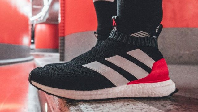 0a0e785401d3f The adidas Ace 16+ PureControl Ultra Boost Surfaces In A New Red Limit  Colorway • KicksOnFire.com
